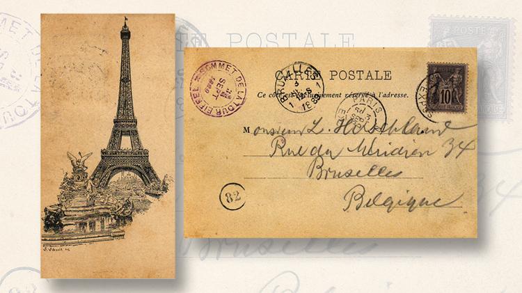 france-eiffel-tower-1889-postcard
