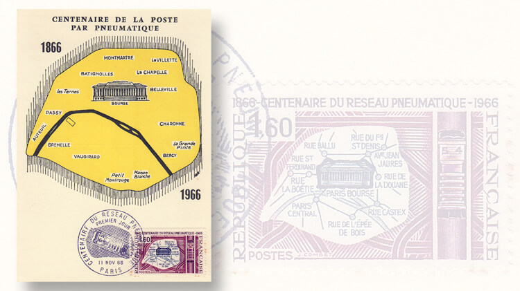 france-pneumatic-post-centennary-stamp
