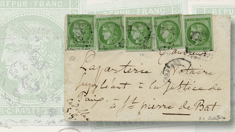 french-cover-1870-five-centime-stamp-bordeaux