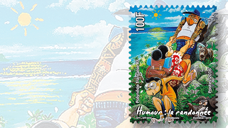 french-polynesia-hiking-stamp