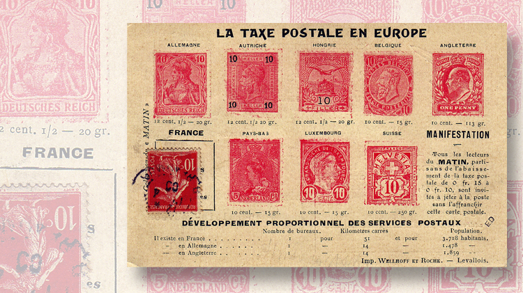 french-postcard-petition-lower-postage-rate