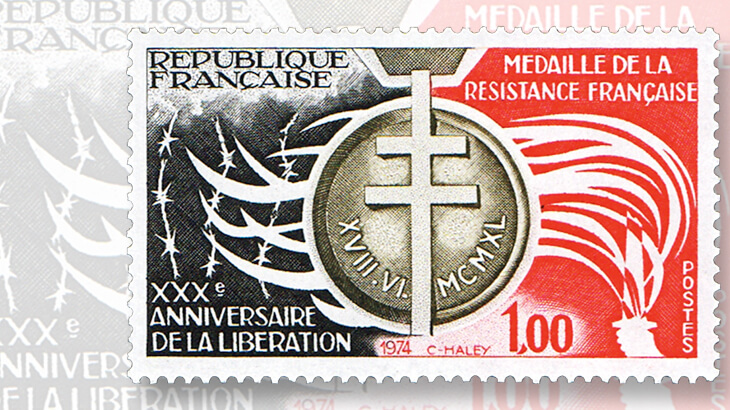 french-resistance-medal-stamp