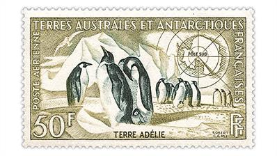 french-southern-antarctic-territory-emperor-penguins-airmail-stamp