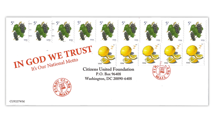 fundraising-reply-envelope-united-states-fruits-coil-stamps