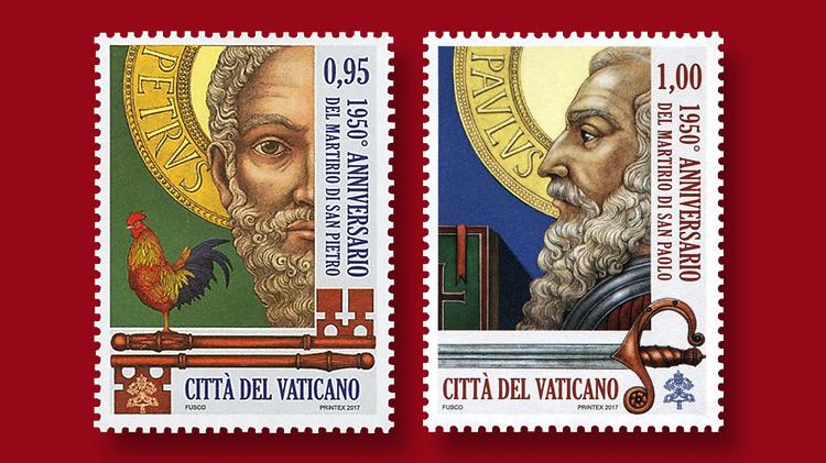 gabriel-award-vatican-stamps