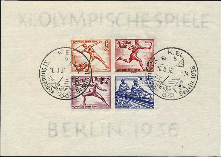 gaertner-1936-olympic-games-sheet