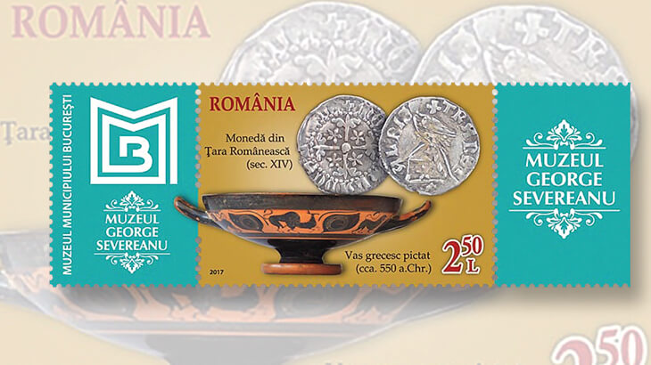 george-severeanu-museum-bucharest-stamp-coins-ancient-greek-pottery