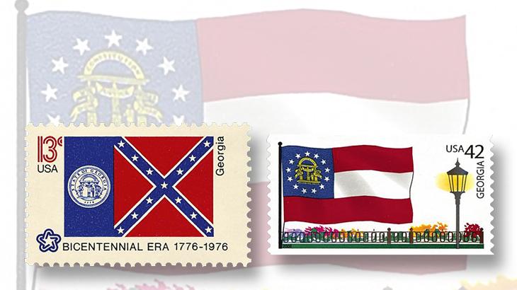 georgia-state-flag-stamps