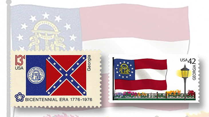 georgia-state-flag-stamps