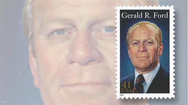 gerald-ford-president-commemorative-stamp