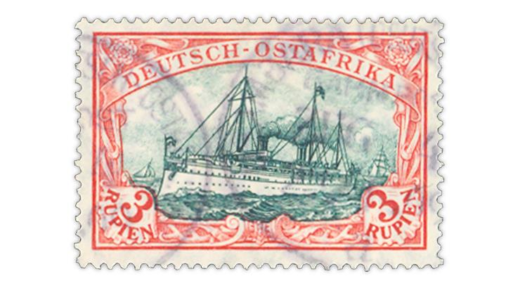 german-east-africa-1908-imperial-yacht-hohenzollern-stamp