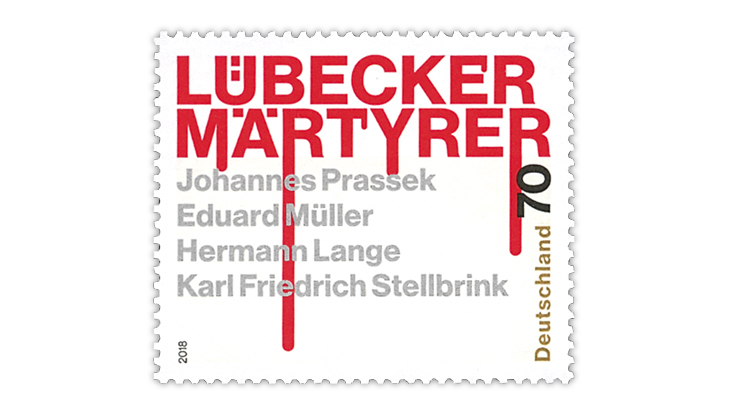 germany-2018-lubeck-martyrs-stamp-2019-gabriel-award