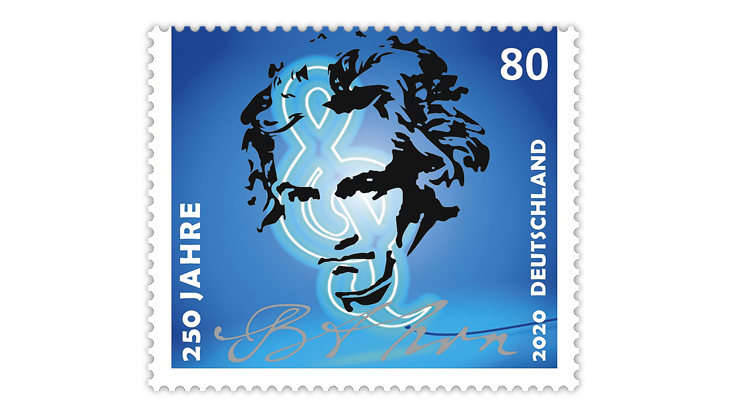 germany-2020-beethoven-250th-birth-anniversary-stamp