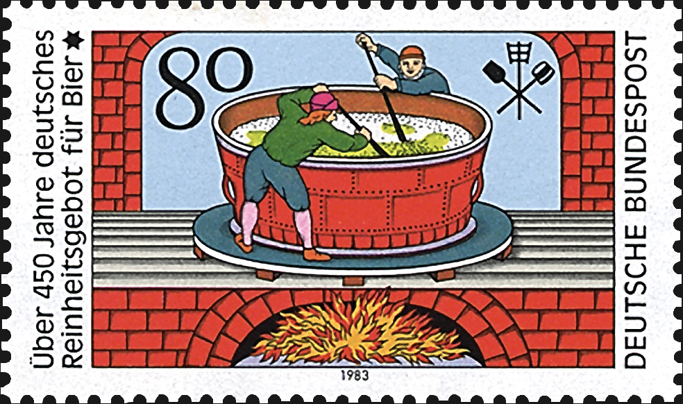 germany-beer-pureness-law-stamp-1983