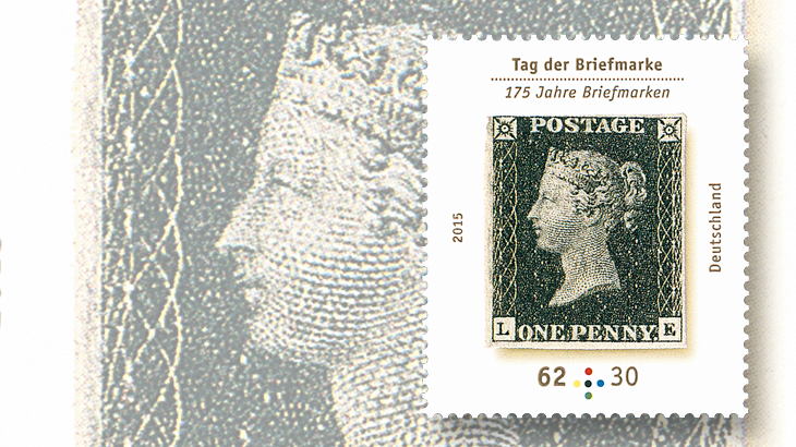 germany-penny-black-175th-anniversary-stamp