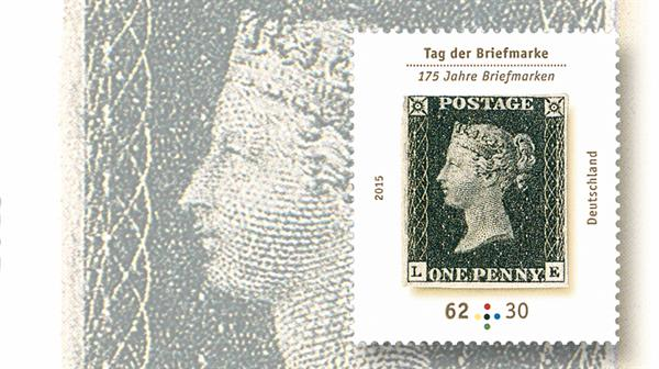 germany-penny-black-175th-anniversary-stamp