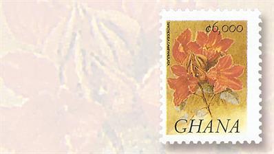 ghana-fauna-and-flora-definitive-stamp