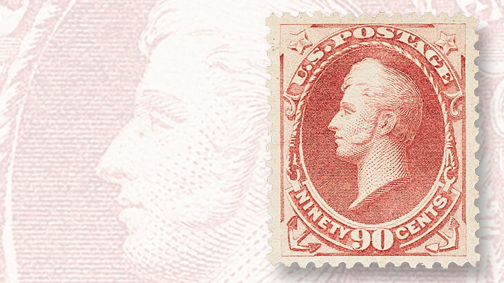 grade-95-ninety-cent-oliver-hazzard-perry-stamp