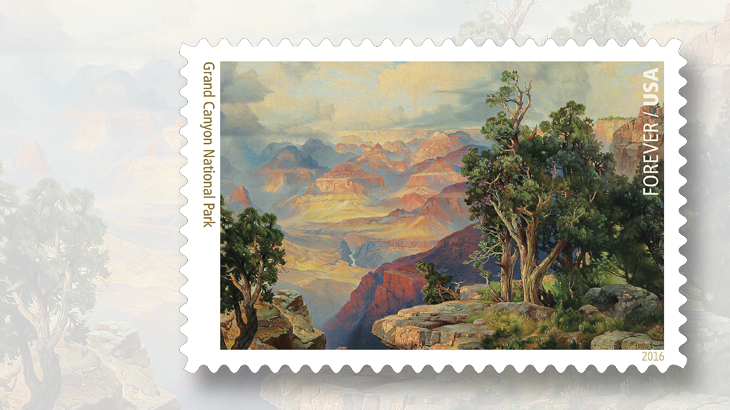 grand-canyon-national-park-painting-stamp