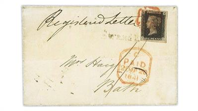 great-britain-1840-penny-black-earliest-known-registered-cover