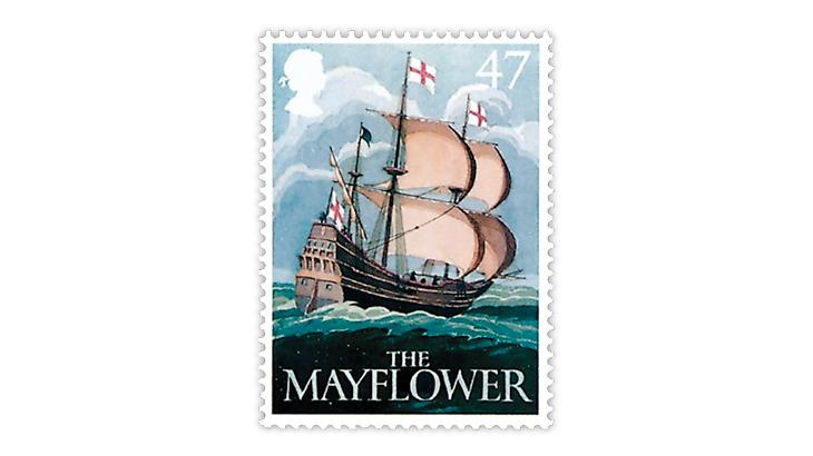 great-britain-2003-mayflower-stamp