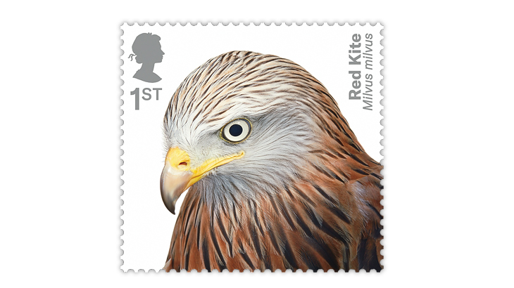 Great Britain 2019 Birds of Prey stamp