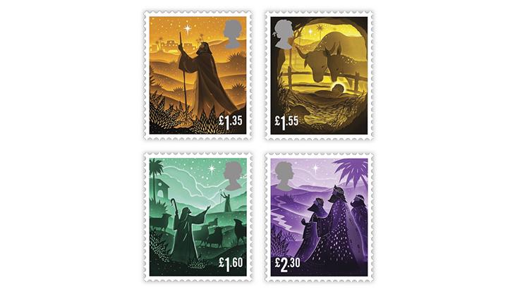 great-britain-2019-christmas-jesus-birth-stamps