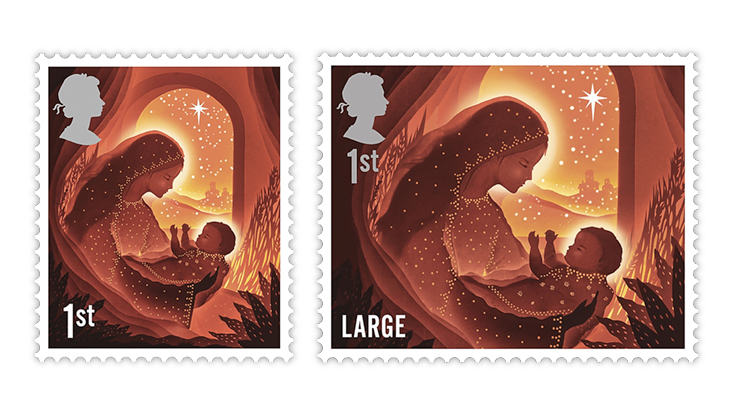 great-britain-2019-christmas-mary-jesus-stamps