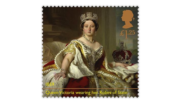 Great Britain 2019 Queen Victoria stamp