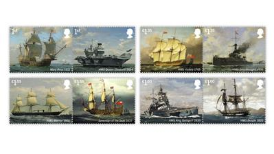 great-britain-2019-royal-navy-ships-stamps