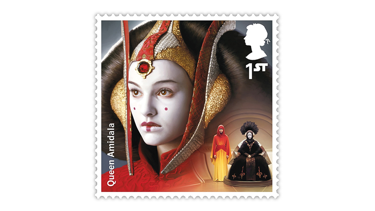 great-britain-2019-star-wars-queen-amidala-stamp