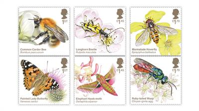 great-britain-2020-brilliant-bugs-stamps