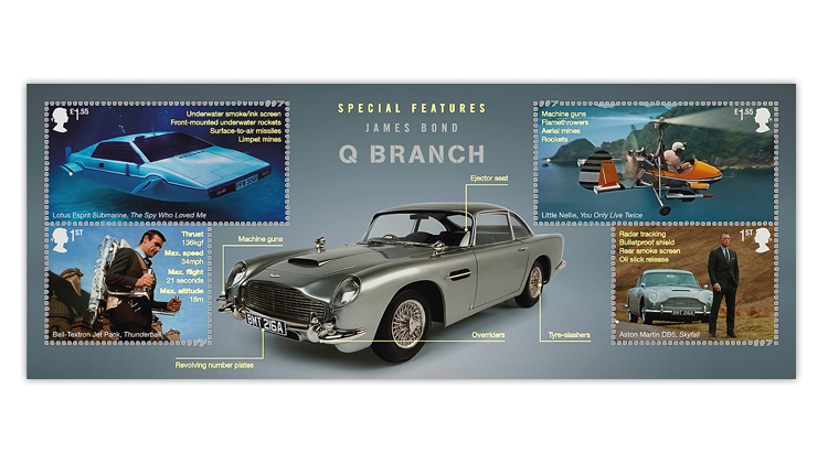 great-britain-2020-james-bond-souvenir-sheet-details-ultraviolet-light