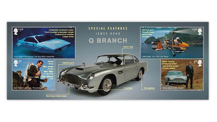great-britain-2020-james-bond-souvenir-sheet-details-ultraviolet-light