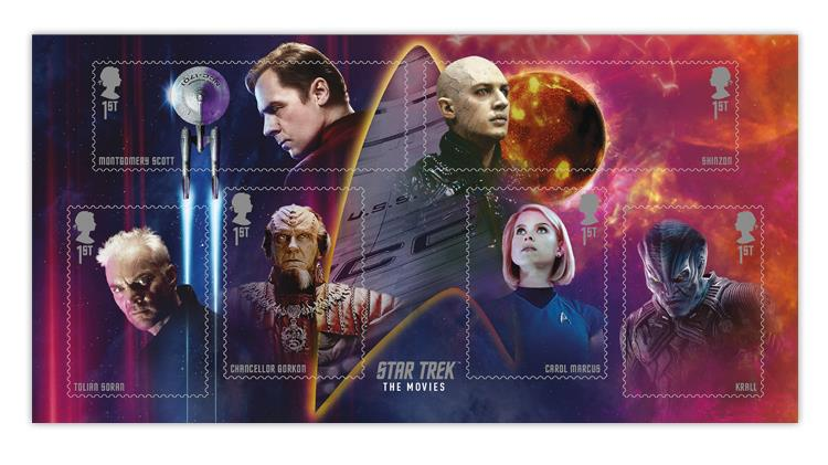great-britain-2020-star-trek-souvenir-sheet