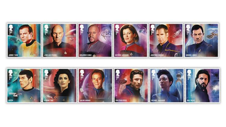 great-britain-2020-star-trek-starship-captains-crew-members-stamps