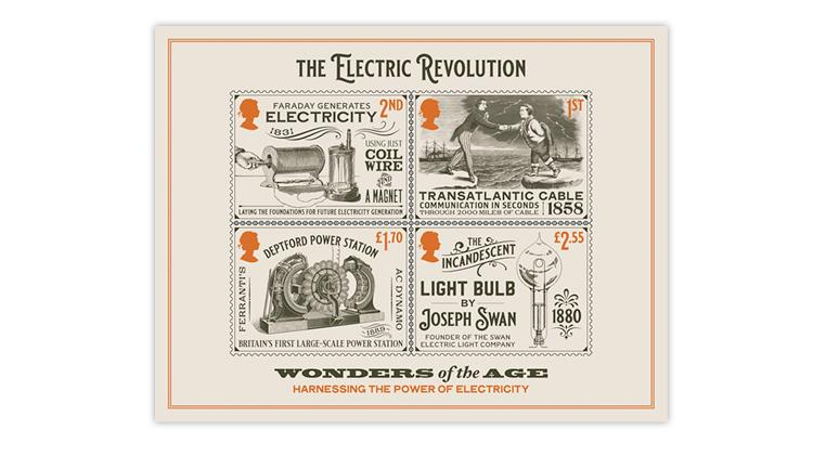great-britain-2021-electric-revolution-souvenir-sheet