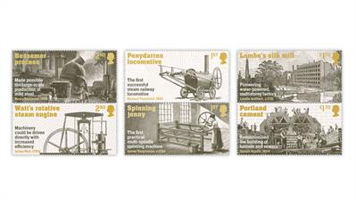 great-britain-2021-industrial-revolution-stamps