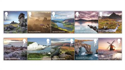 great-britain-2021-national-parks-stamps