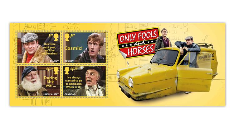 great-britain-2021-only-fools-and-horses-sitcom-souvenir-sheet