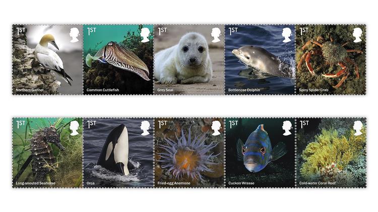 great-britain-2021-wild-coasts-stamps