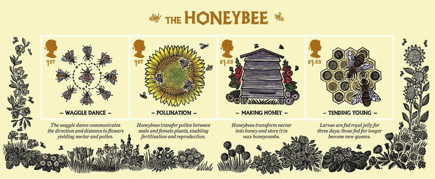 great-britain-bees-souvenir-sheet-2015