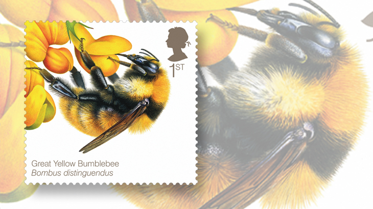 great-britain-bees-stamps