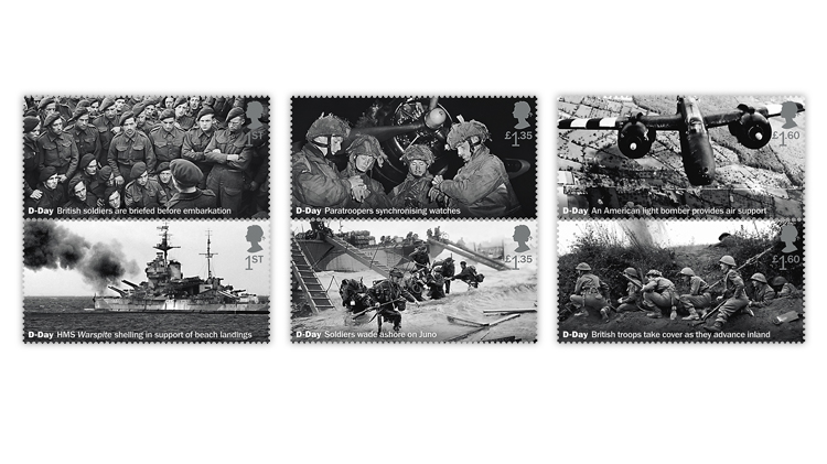 great-britain-d-day-stamp-pairs