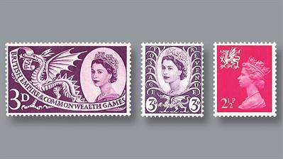 great-britain-dragon-queen-elizabethii-stamps
