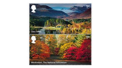 great-britain-forests-stamps-glen-affric-westonbirt