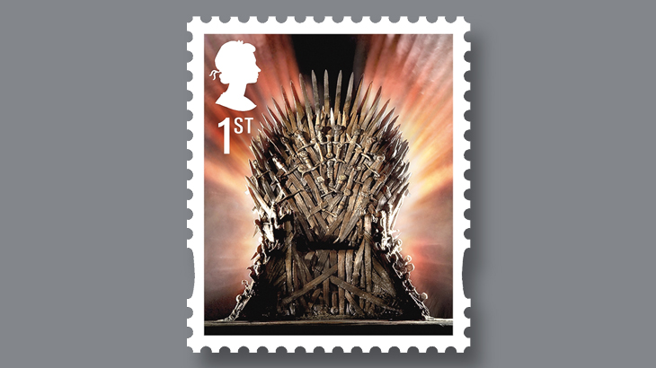 Royal Mail is releasing 15 Game of Thrones stamps - take a look