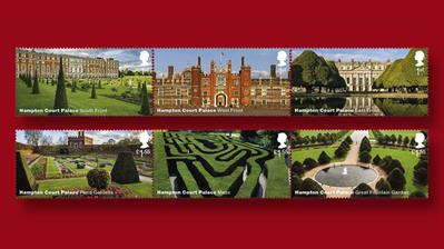 great-britain-hampton-court-stamps