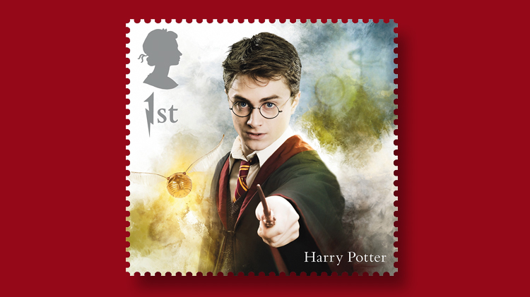great-britain-harry-potter-stamp