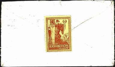 great-britain-philately-1911-glasgow-exhibition-label-on-cover